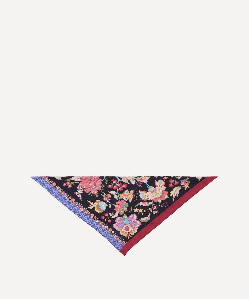 Liberty - Christelle Triangle Silk Twill Scarf