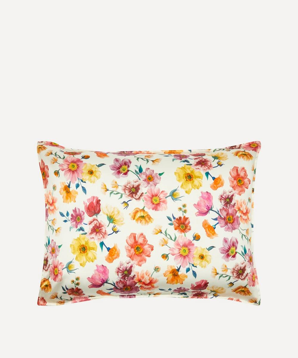 Coco & Wolf - Jessica's Picnic Silk Satin Pillowcases Set of Two