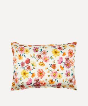 Jessica's Picnic Silk Satin Pillowcases Set of Two