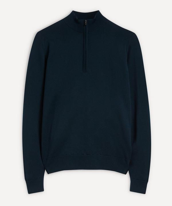 John Smedley - Tapton Merino Wool Half-Zip Sweater