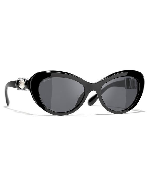 Chanel - Cat-Eye Sunglasses