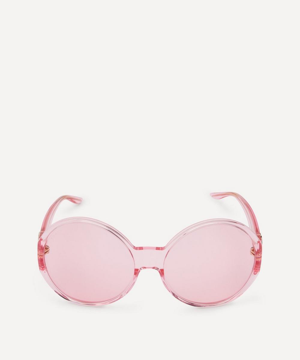 Gucci - Oversized Round Sunglasses