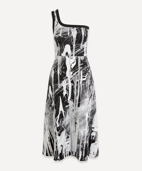 Christopher Kane - Mindscape One Shoulder Dress