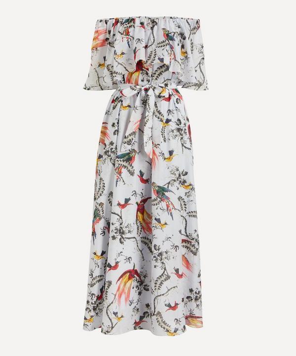 Erdem - Vacation Algarve Cotton-Silk Maxi-Dress