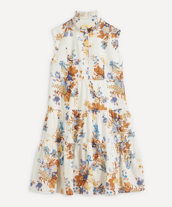 Erdem - Vacation Porto Sleeveless Linen-Cotton Mini-Dress
