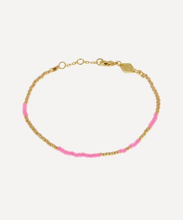 ANNI LU - Gold-Plated Asym Beaded Bracelet