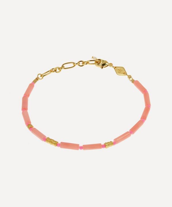 ANNI LU - Gold-Plated Malibu Beaded Bracelet
