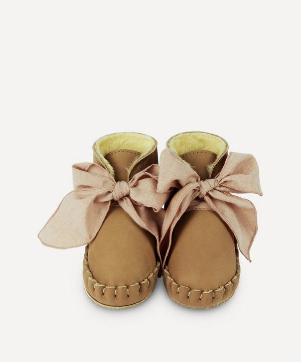 Donsje - Pina Organza Leather Baby Shoes 0-30 Months