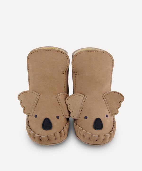 Donsje - Kapi Koala Leather Baby Boots 0-30 Months