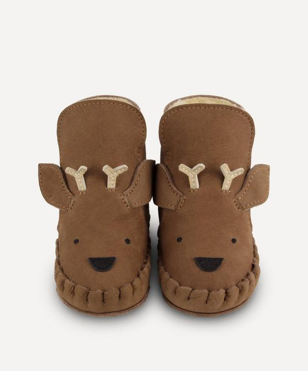 Donsje - Kapi Stag Leather Baby Boots 0-30 Months