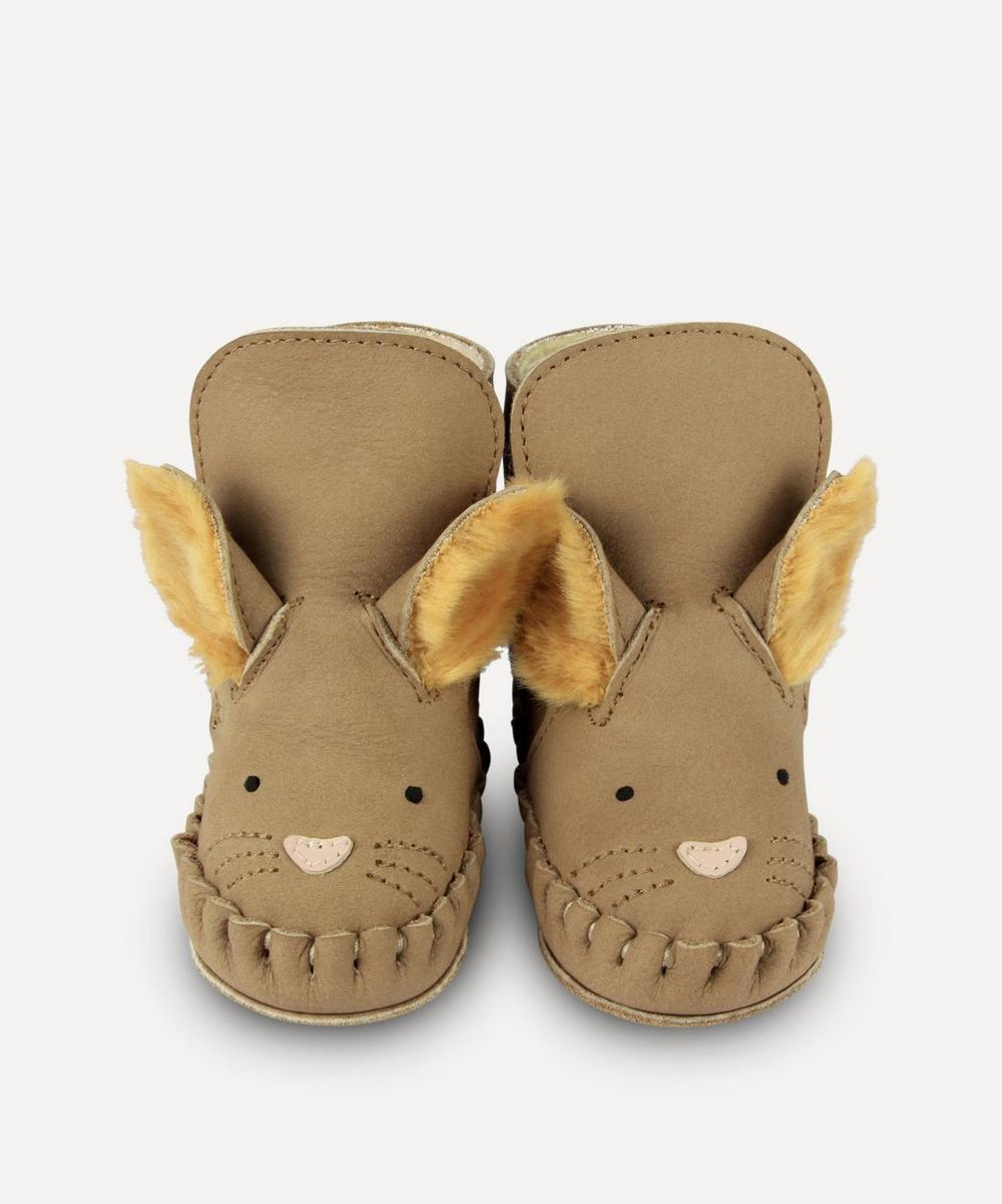 Donsje - Kapi Squirrel Leather Baby Boots 0-30 Months