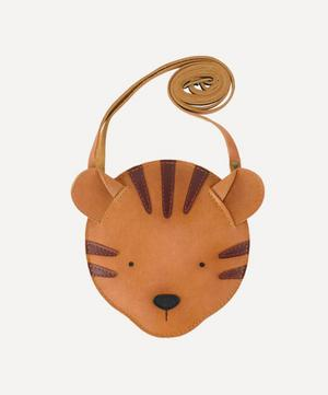 Britta Tiger Leather Bag