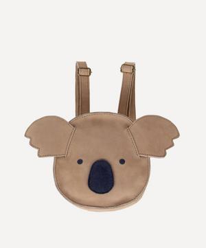 Kapi Koala Leather Backpack