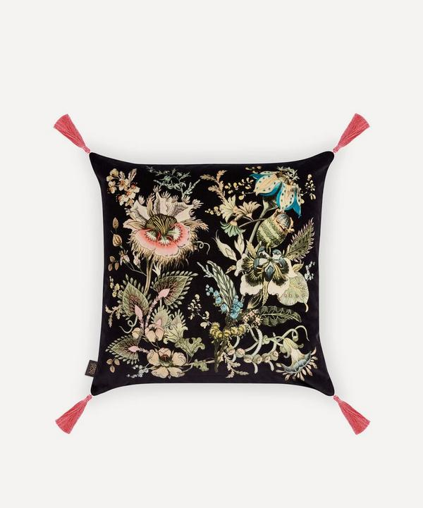 House of Hackney - Flora Fantasia Large Velvet Cushion