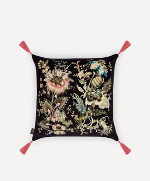 Flora Fantasia Large Velvet Cushion