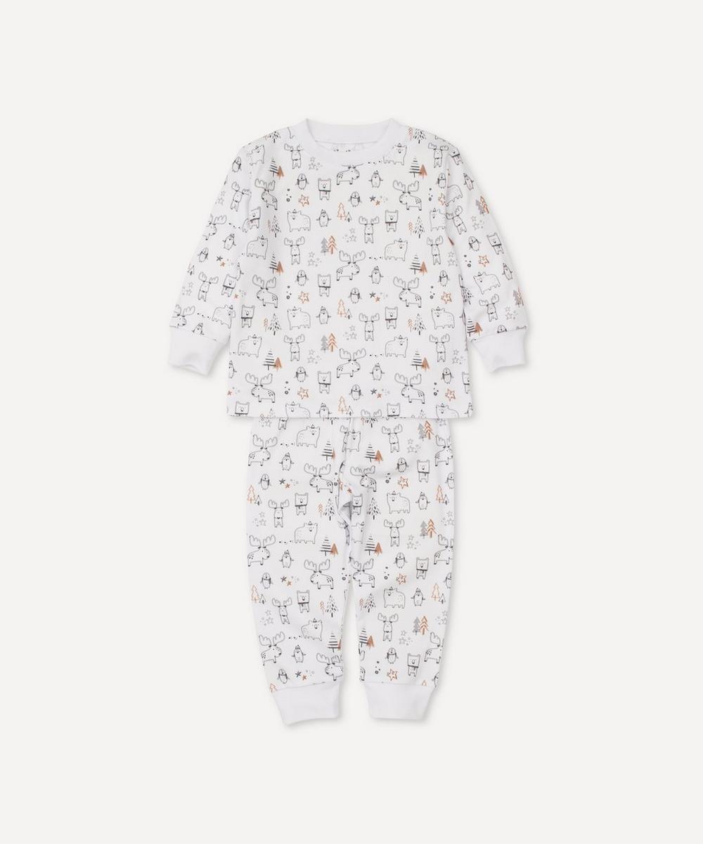 Kissy Kissy - Moose Mania Pyjama Set 12-24 Months