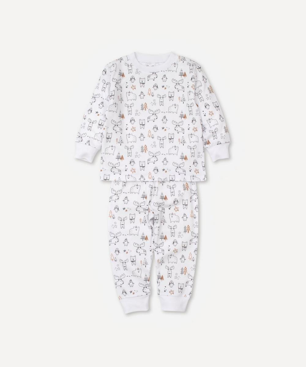 Kissy Kissy - Moose Mania Pyjama Set 2-6 Years