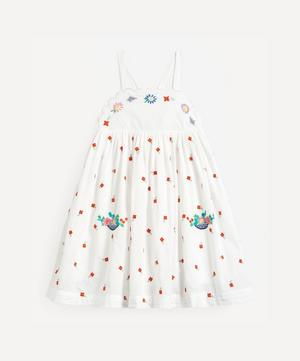 Floral Embroidered Cotton Dress 2-8 Years