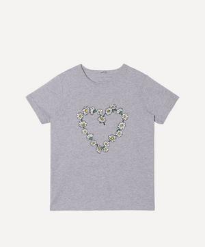 Daisy Chain Heart Short Sleeve T-Shirt 2-8 Years