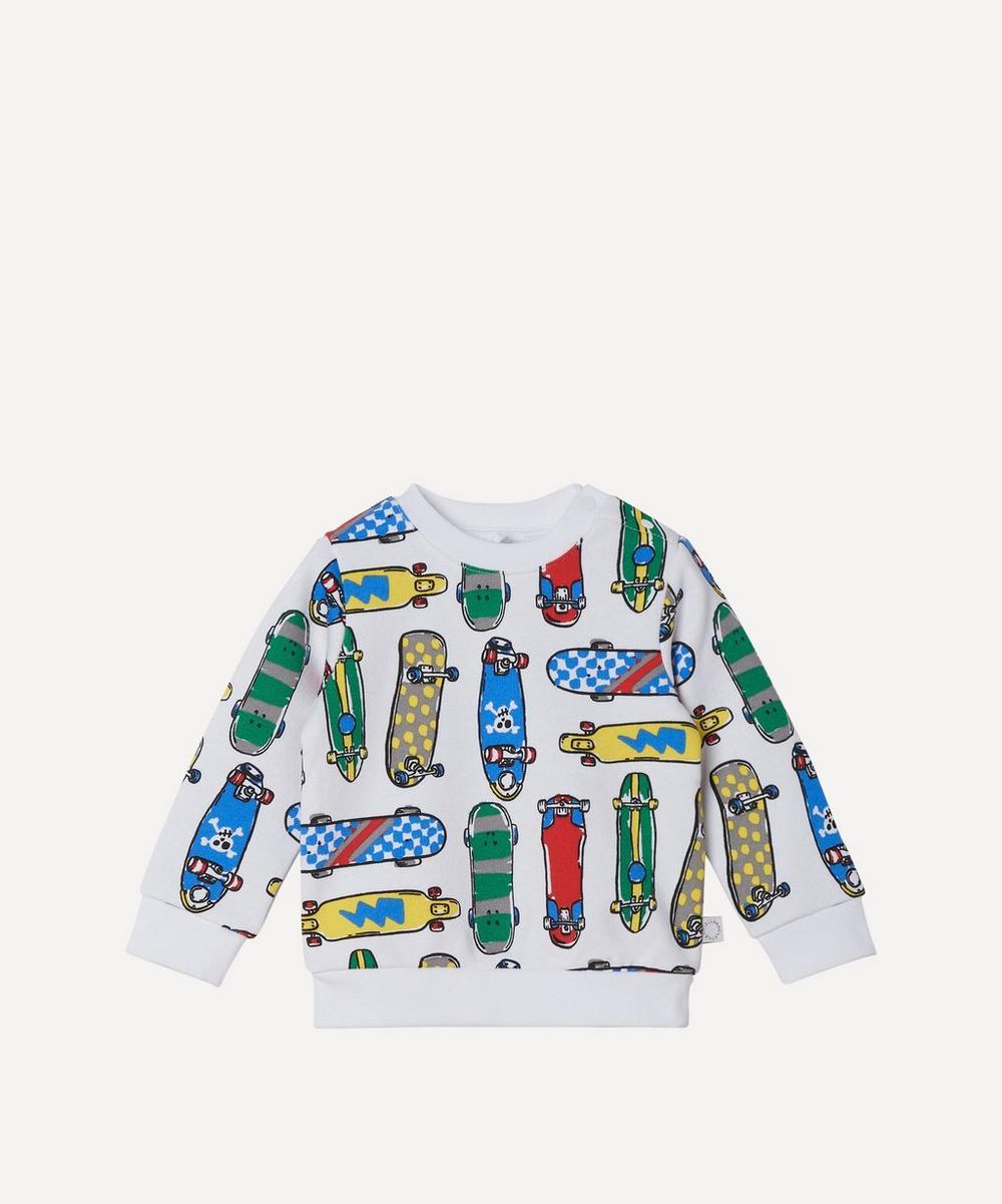 Stella McCartney Kids - Skateboard Sweater 3 Months-3 Years