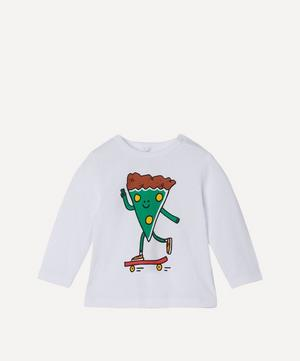 Skater Pizza Long Sleeve T-Shirt 3 Months-3 Years