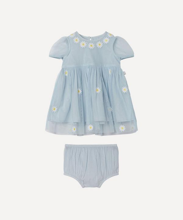Stella McCartney Kids - Daisy Embroidered Tulle Dress 3 Months-3 Years