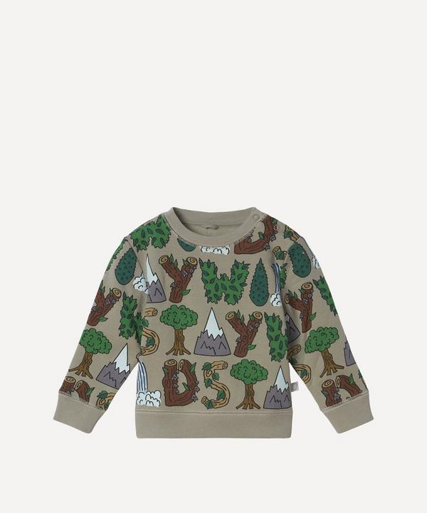 Stella McCartney Kids - Stay Wild Sweatshirt 3 Months-3 Years
