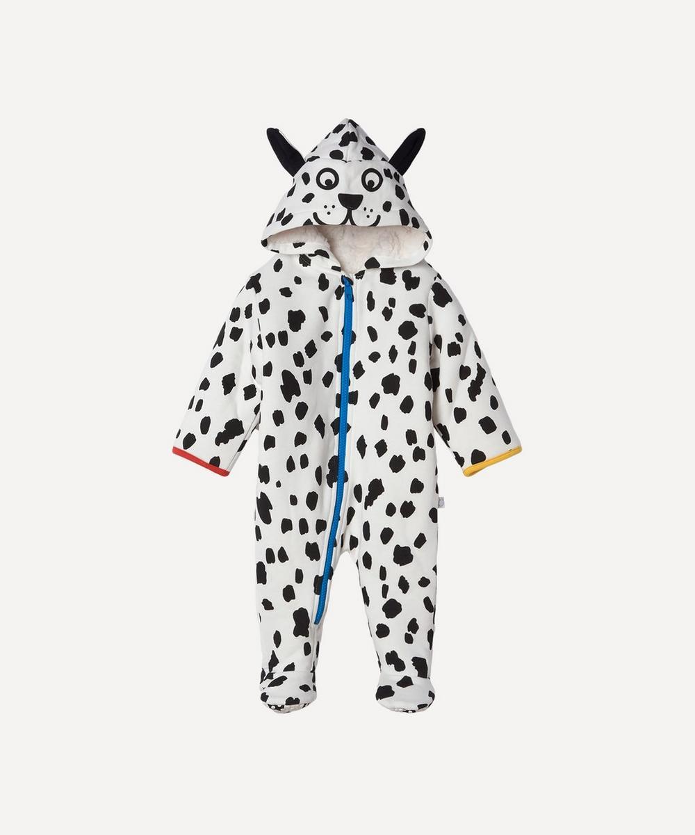 Stella McCartney Kids - Dalmatian Spots Fleece Jumpsuit 3 Months-3 Years