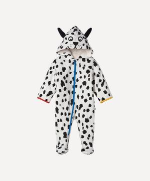 Dalmatian Spots Fleece Jumpsuit 3 Months-3 Years