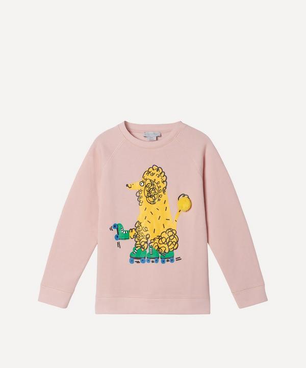 Stella McCartney Kids - Skating Poodle Sweatshirt 2-8 Years