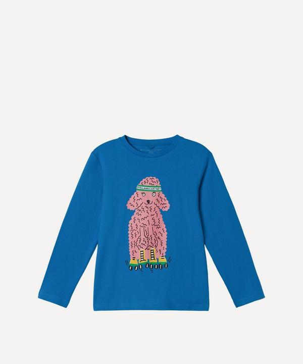 Stella McCartney Kids - Skating Poodle Long Sleeve T-Shirt 2-8 Years