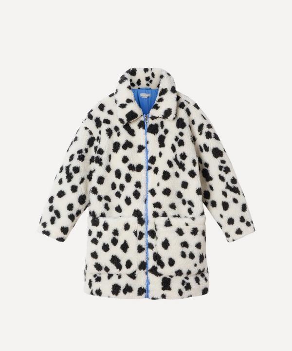 Stella McCartney Kids - Dalmatian Spot Teddy Coat 2-8 Years
