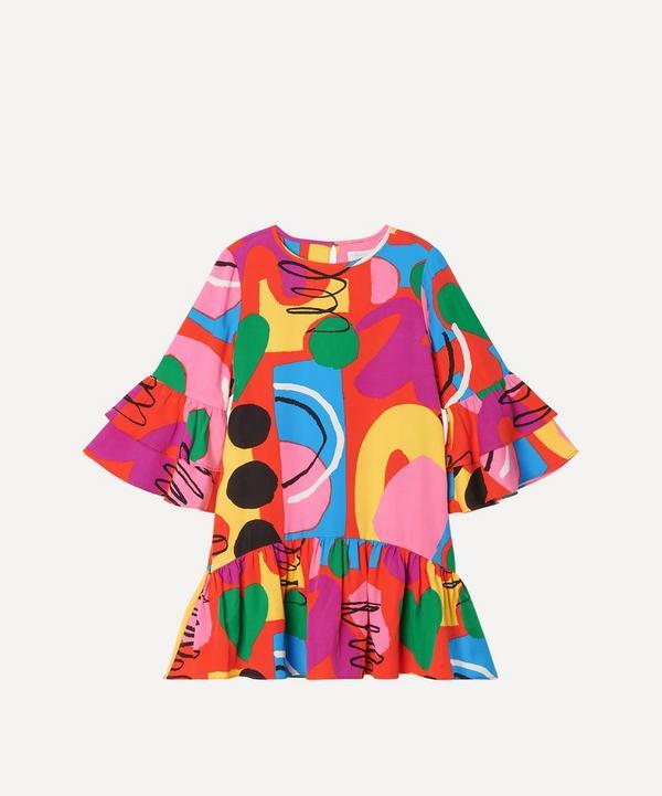Stella McCartney Kids - Painting Twill Dress 2-8 Years