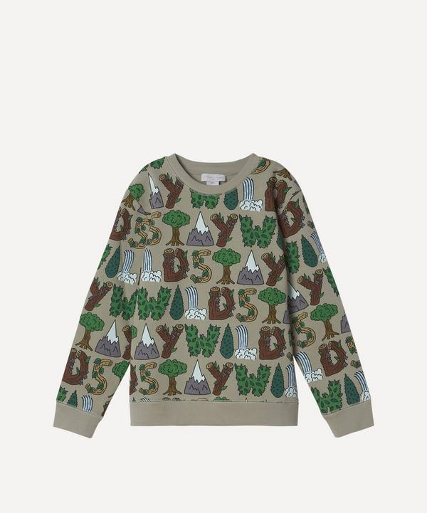 Stella McCartney Kids - Stay Wild Sweatshirt 2-8 Years