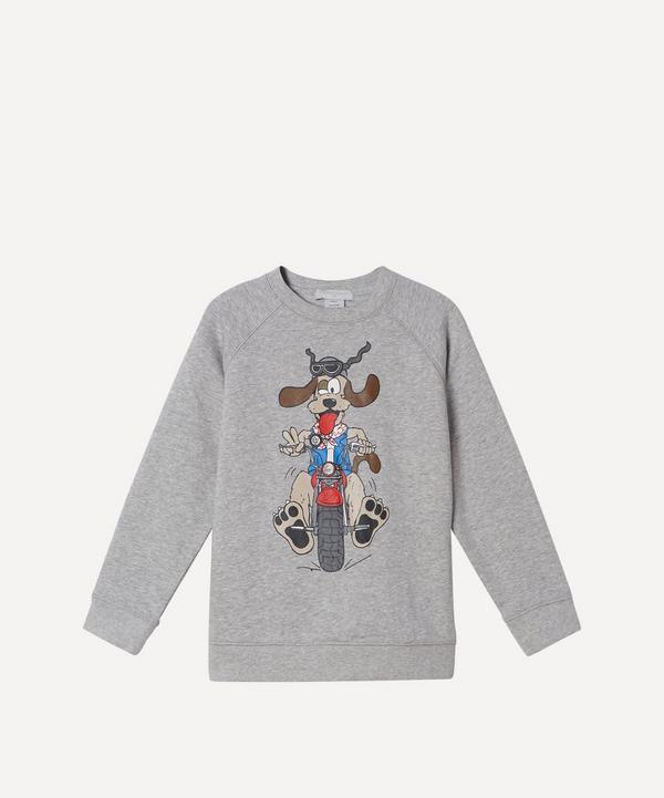 Stella McCartney Kids - Doggie Rider Sweatshirt 2-8 Years