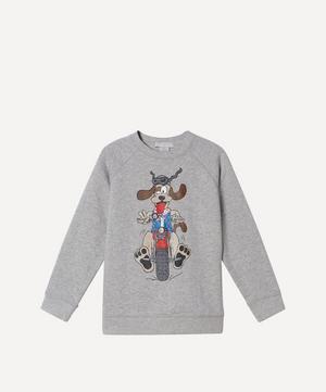 Doggie Rider Sweatshirt 2-8 Years
