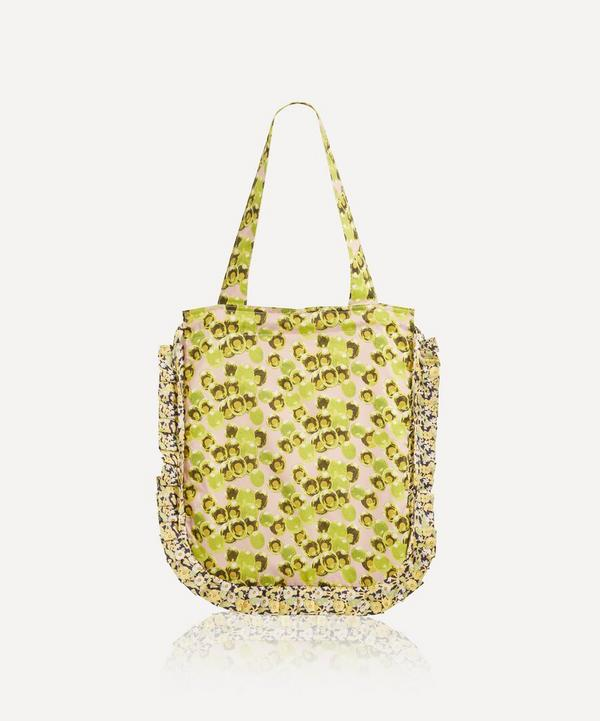 Maison M - Soapsuds Frilled Tana Lawn™ Cotton Tote Bag