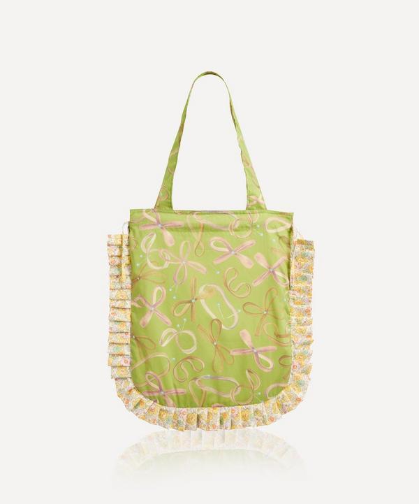 Maison M - Rubberband Man Frilled Tana Lawn™ Cotton Tote Bag