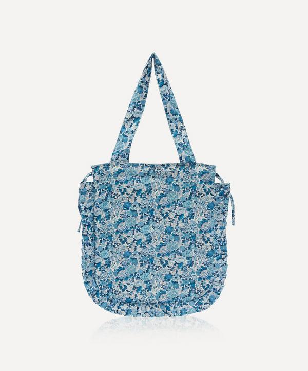 Maison M - Elysian Day Frilled Cotton Tote Bag
