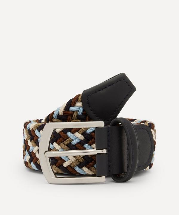 Anderson's - Woven Multicolour Belt
