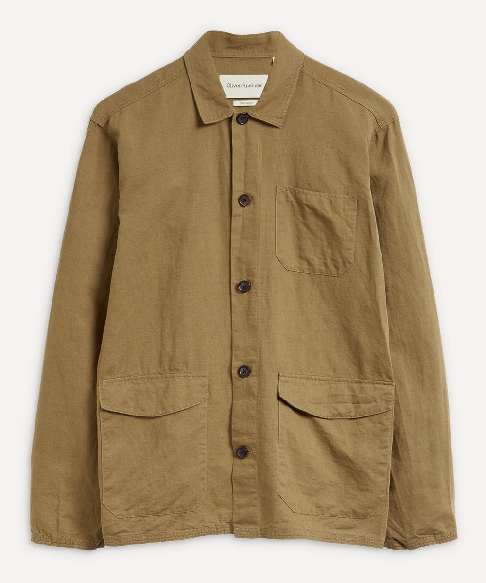 Oliver Spencer - Hockney Three-Pocket Shirt-Jacket