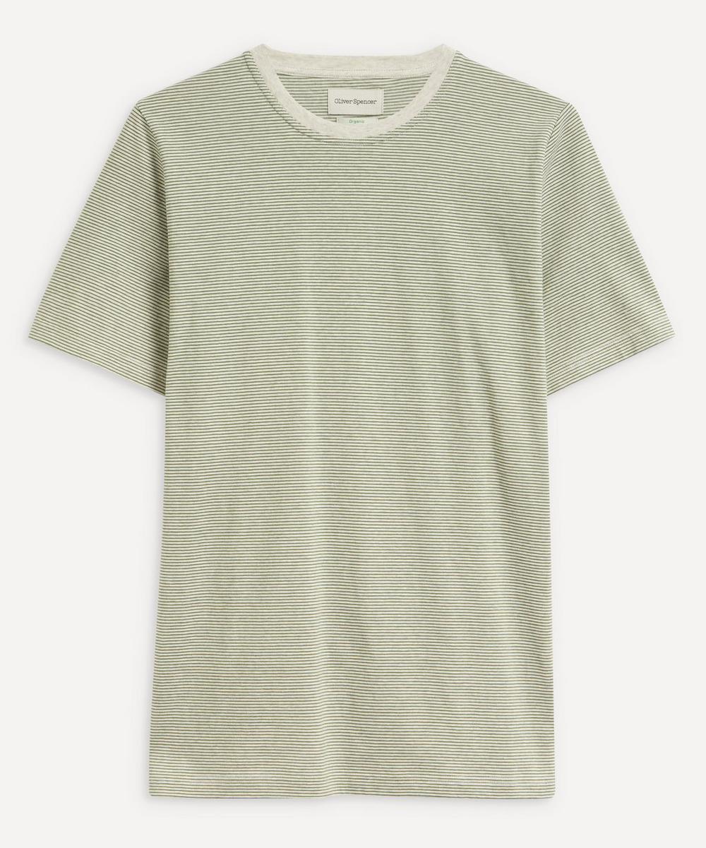 Oliver Spencer - Conduit Fine Stripe Cotton T-Shirt