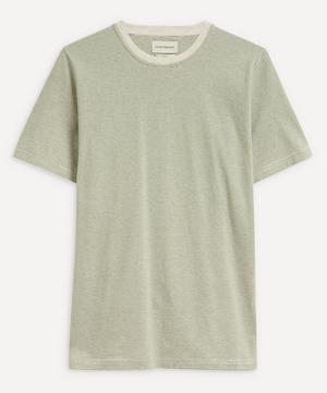 Conduit Fine Stripe Cotton T-Shirt