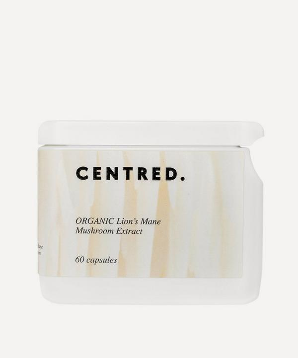 CENTRED - Organic Lion's Mane Mushroom Extract 60 Capsules