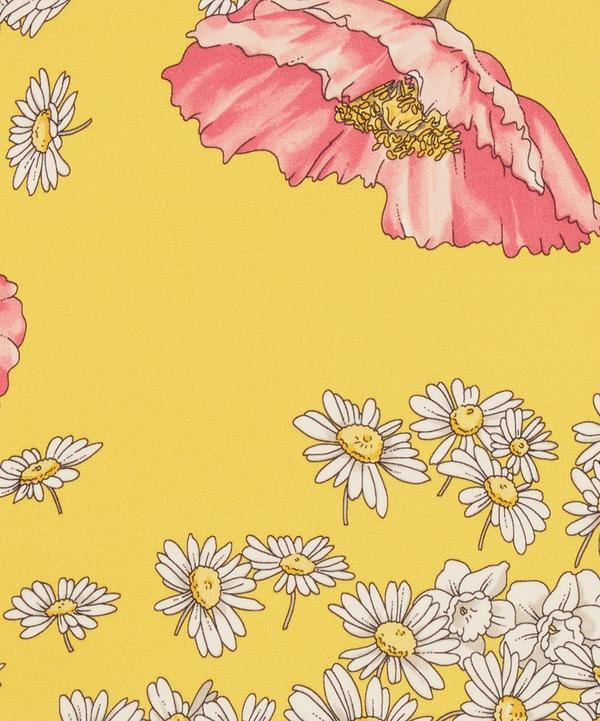 Ungaro - Poppy and Daisies Silk Satin