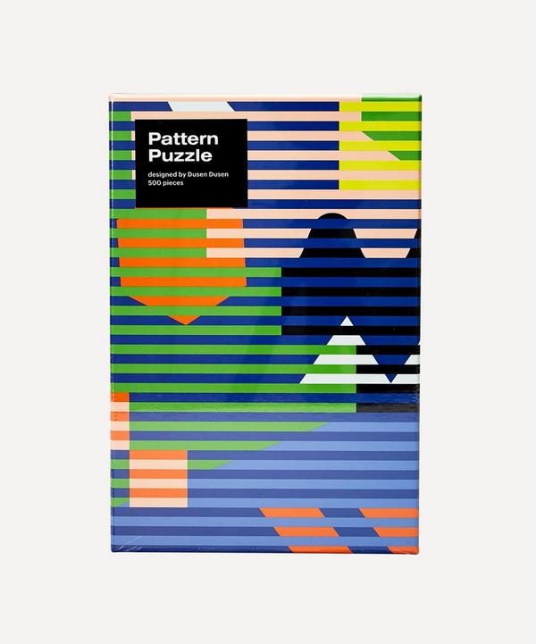 Areaware - Dusen Dusen 500-Piece Pattern Puzzle Lenticular