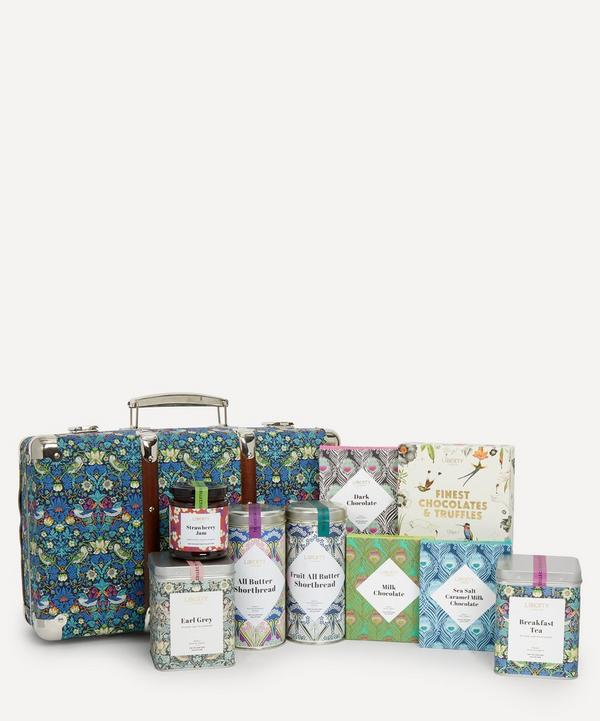 Liberty - Strawberry Thief Heritage Suitcase Hamper