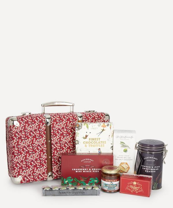 Liberty - Christmas Suitcase Hamper