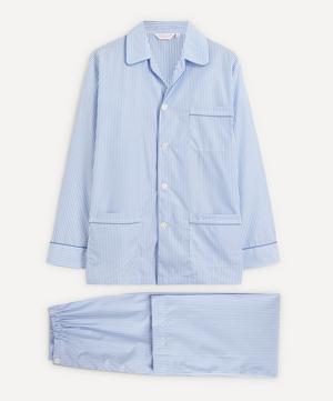 Core Piped Classic Fit Cotton Check Pyjama Set