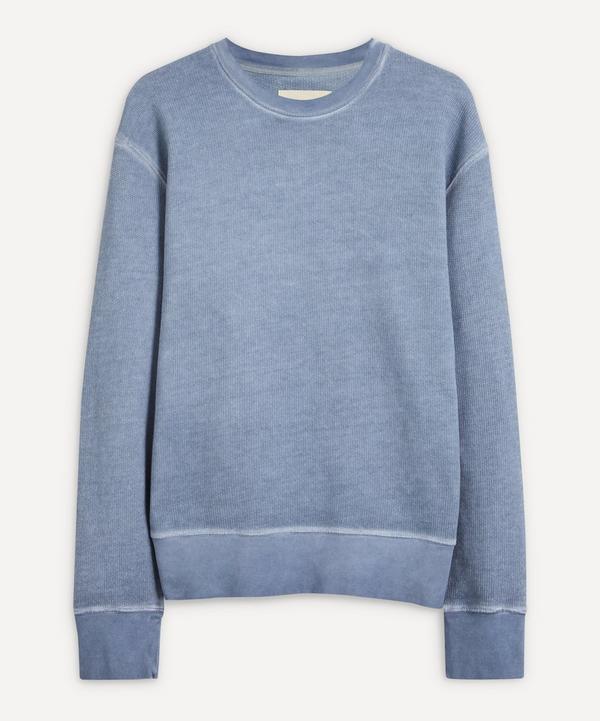 Folk - Boxy Cold-Dye Cotton Sweater